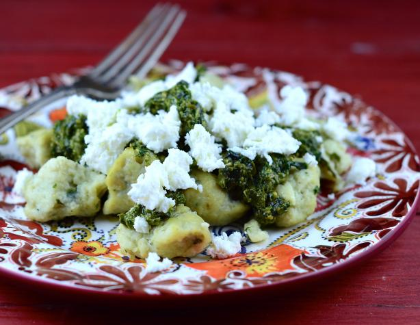 Pesto & Feta Simply Potatoes Gnocchi #5FIX