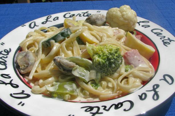 Linda's Creamy Italian Chicken Fettuccine