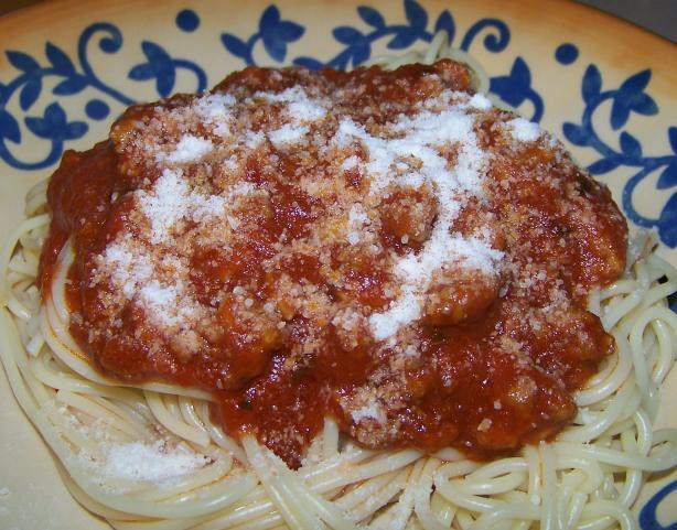 Mimi's Fantastic Thick Spaghetti Sauce