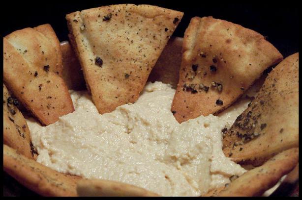 Butter Bean Hummus (Houmous)