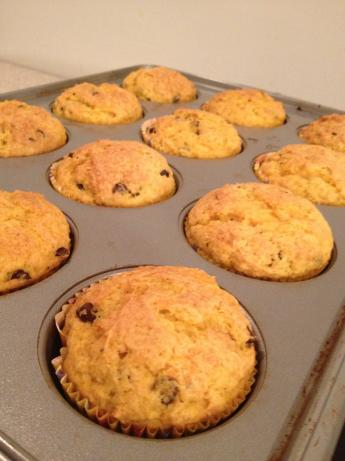 Butternut Squash and Chocolate Chip Muffins