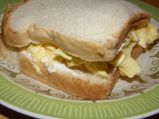 My Favorite Comfort Food Egg Sandwich