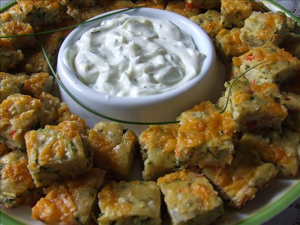 Vegetable Appetizer Squares