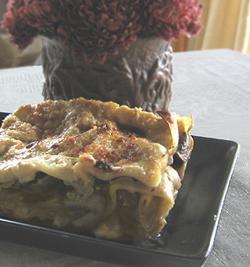 Vegan Mushroom & Bechamel Lasagna