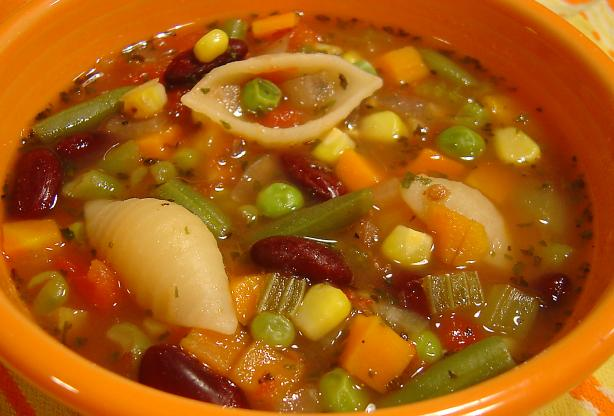 Low Fat Minestrone Soup