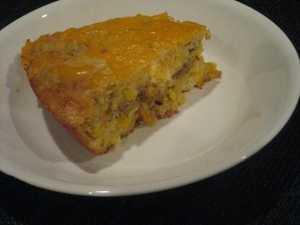 Stuffed Skillet Ranch Cornbread #RSC