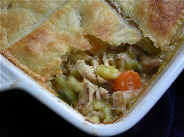 Creamy Italian Chicken Puff Pie