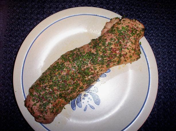 Fresh Herbed Pork Tenderloin