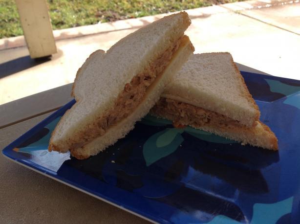 BBQ Chicken Salad Sandwich