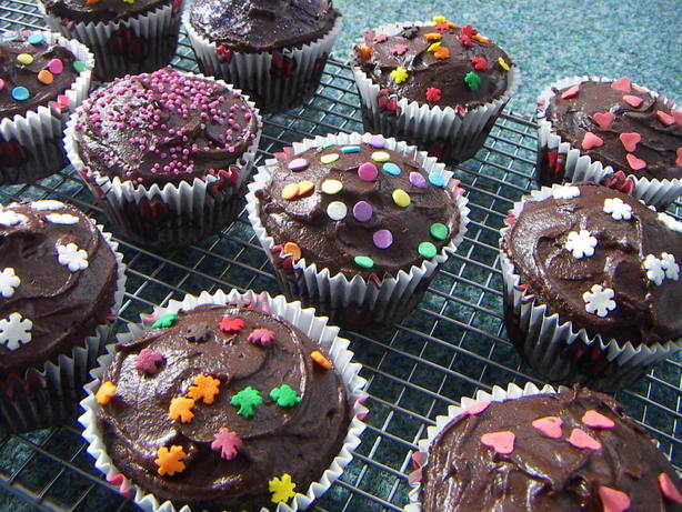 Mom's Chocolate Cupcakes
