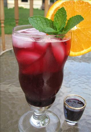 Blueberry Drink Syrup for Blueberry Iced Tea