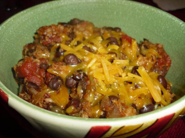 Quick & Easy Veggie Chili