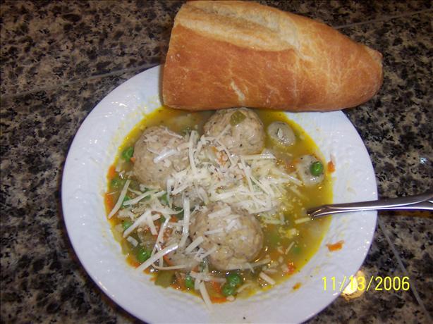 Double Chicken Dumpling Soup