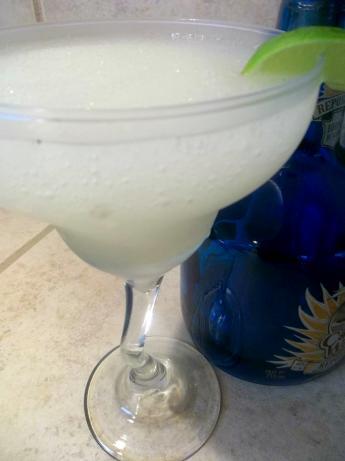 Blended Agave Nectar Margarita