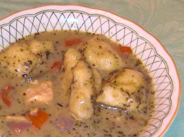Quick Fix Italian Chicken & Dumplings