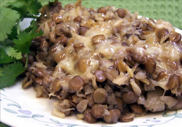Herbed Lentil Casserole