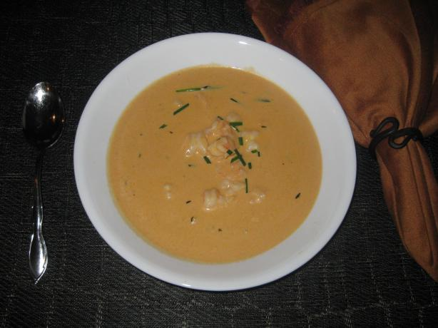 Creamy Ranch Shrimp Bisque #RSC