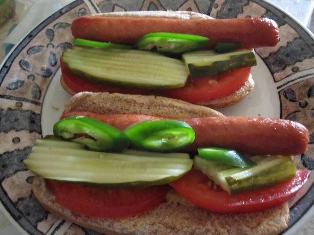Chicago Style Hot Dogs (Vienna Beef)
