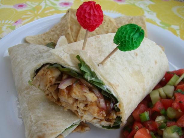 Whole Foods Jamaican Jerk Chicken Wrap