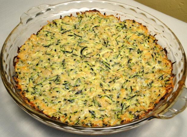 Zucchini Pizza Dough