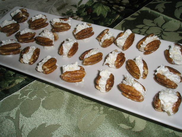 Cheese Stuffed Pecans