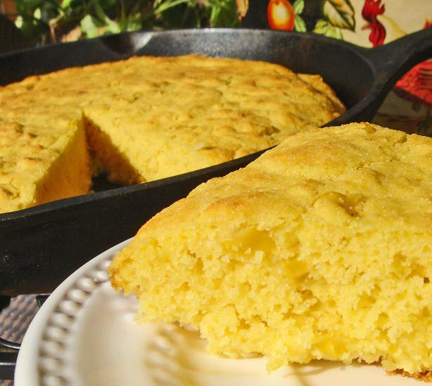 Good Eats Creamed Corn Cornbread (Alton Brown)