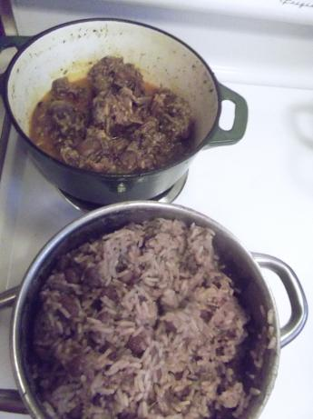 Jamaican Style Red Beans and Rice