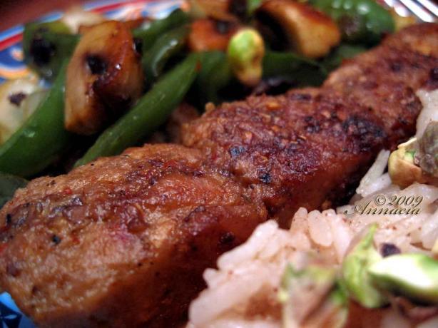 Spicy Pork Kabobs