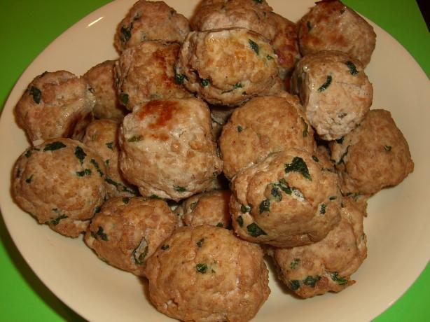Savory Turkey-Ricotta Meatballs