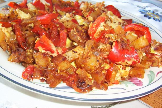 Pisto (Spanish Vegetable Stir-Fry)