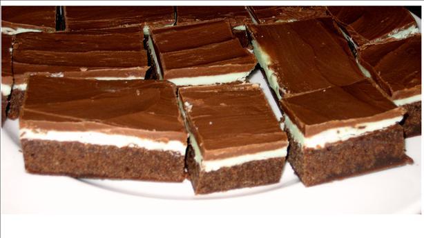 Creme De Menthe Brownies