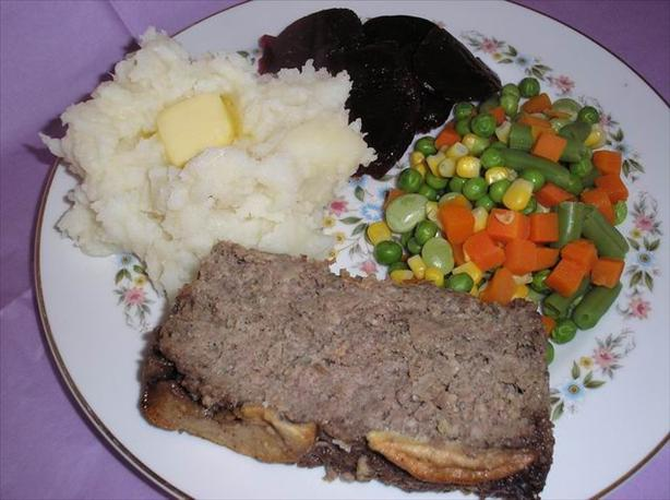 Applesauce Meatloaf