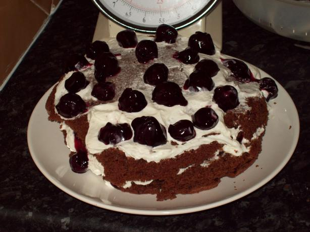Easy Peasy Black Forest Cake