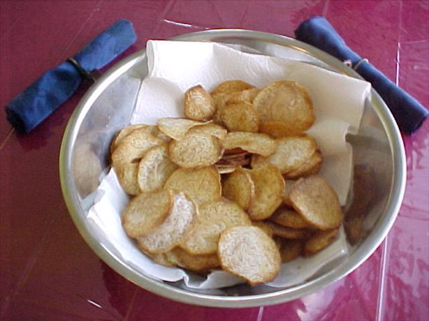Taro Chips (like Potato Chips)