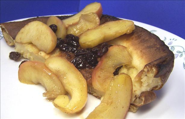 Finnish Kropser (Baked Pancake)