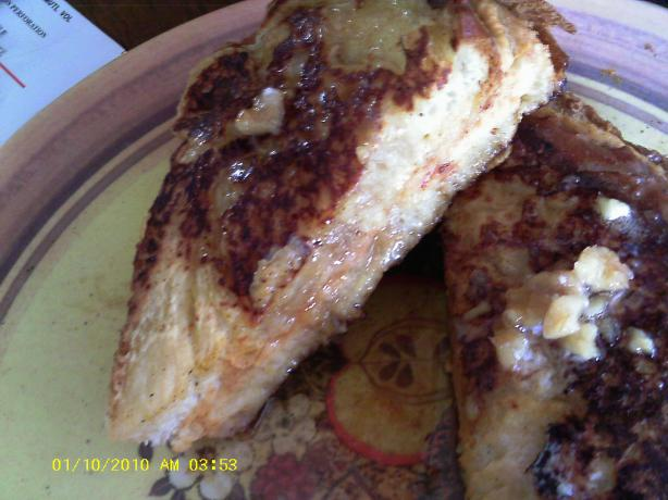 Louisiana Sweet Potato French Toast With Pecan Honey-Butter
