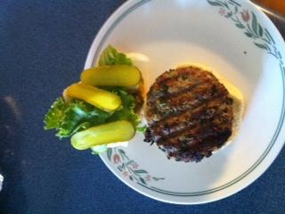 Low Fat Spinach Turkey Burgers