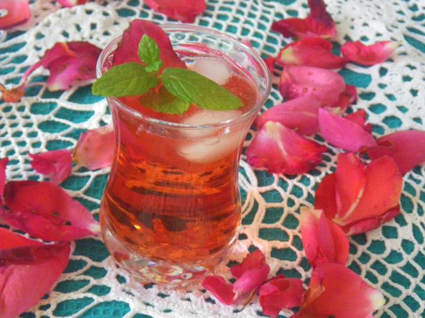 Iced English Rose Tea
