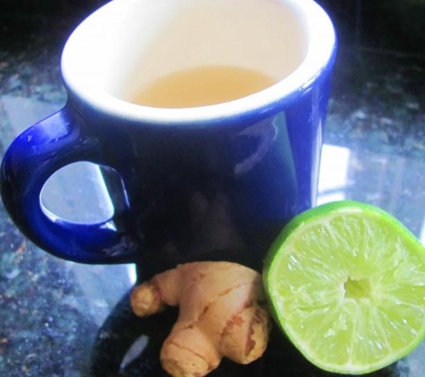 Get Your C Ginger-Lime Tea (Rachael Ray)