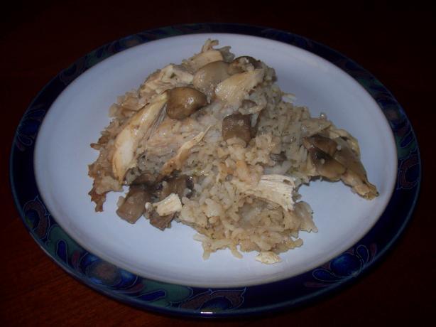 Marsala Chicken & Mushroom Casserole