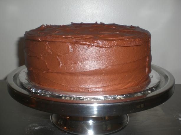 Fudgy Deluxe Chocolate Cake