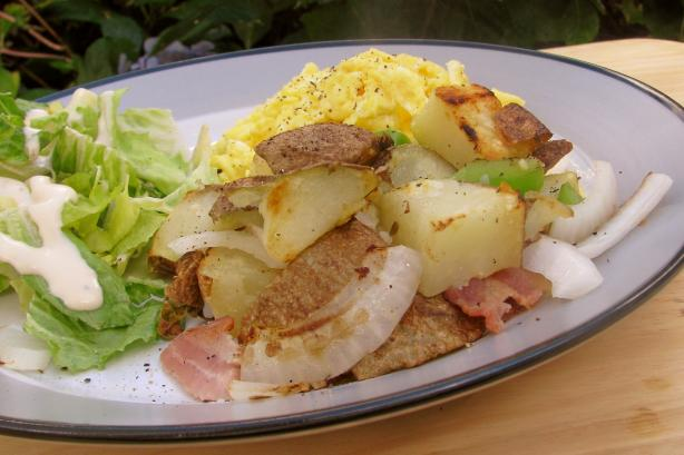 Garlic Breakfast Potatoes
