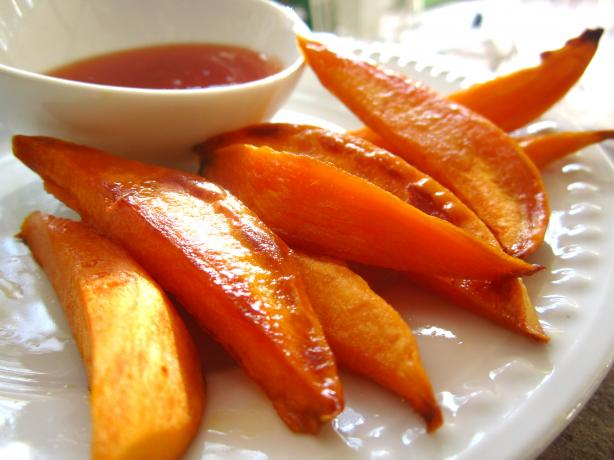 Agave Roasted Sweet Potatoes - Vegan
