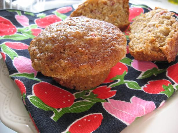 Danielle Lapointe's Calgary Stampede Rhubarb Muffins
