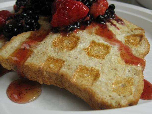 Waffle-Style French Toast