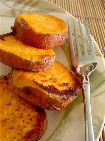 Roasted Sweet Potato Fries or Rounds