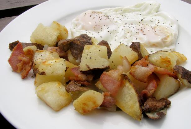 Nora Ephron's Bacon Hash