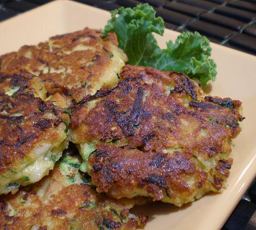 The Best Zucchini Patties