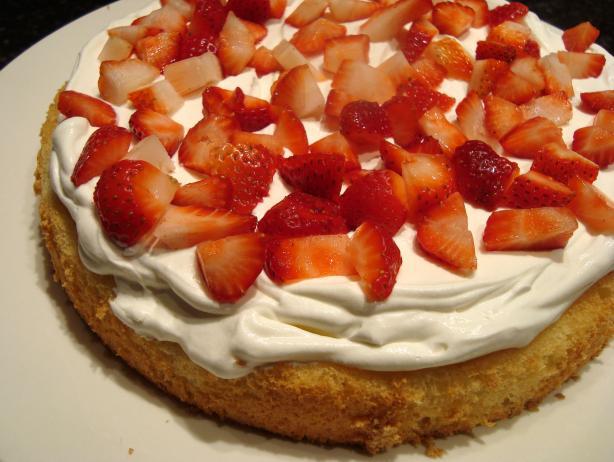 Paula Deen's Strawberry Cream Shortcake
