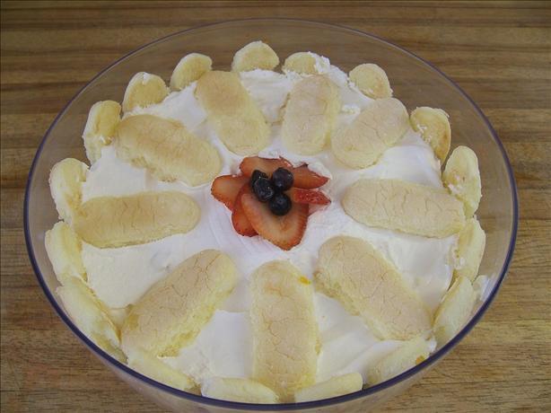 Summerberry Ladyfinger Trifle